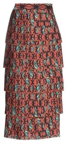 Thumbnail for your product : Stella Jean 3/4 length skirt
