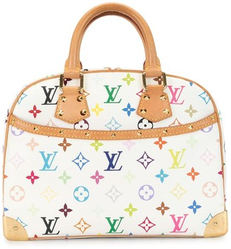 Louis Vuitton x Takashi Murakami 2005 pre-owned Trouville tote bag