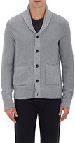 Rag & Bone MEN'S AVERY COTTON CARDIGAN-GREY SIZE XL