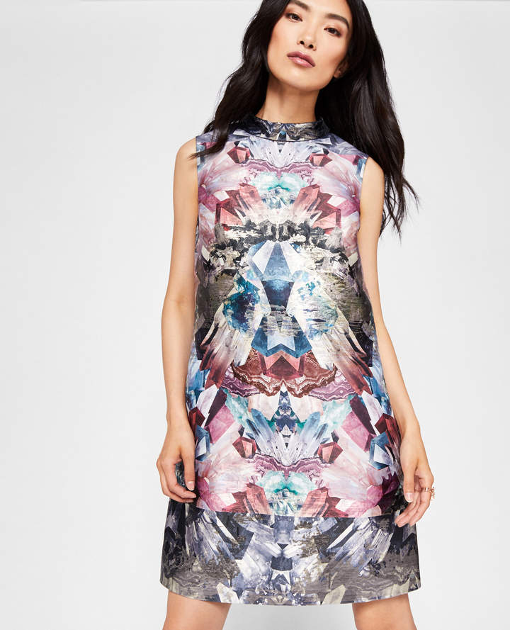 Ted Baker HEIDY Mirrored Minerals tunic dress