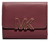 Michael Kors Florence Tri-Fold Leather Wallet
