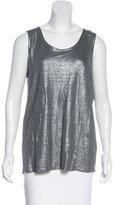 Eileen Fisher Metallic Sleeveless Top w/ Tags