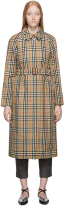 Burberry Beige Kempton Trench Coat