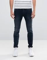 Selected Fabios Skinny Fit Jeans in Dark Wash
