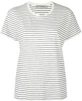 Vince striped relaxed T-shirt - women - Supima Cotton - XS