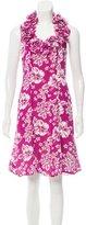 Michael Kors Silk Hawaiian Dress
