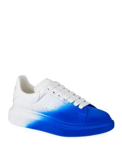 Men's Larry Degrade Spray Paint Platform Sneakers