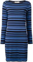 MICHAEL Michael Kors striped dress - women - Polyester/Spandex/Elastane - S