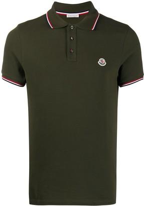 Moncler Pique Knit Polo Shirt