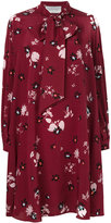 Valentino Flowers Fall dress - women - Silk - 38
