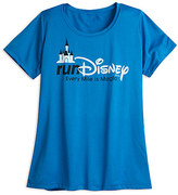 Disney runDisney Performance Tee for Women - Blue