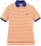 Ralph Lauren Shirt, Little Boys Short-Sleeve Striped Polo