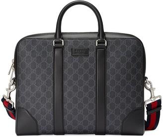 Gucci GG Supreme briefcase