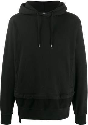 Stone Island Shadow Project zip trim hoodie