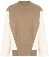 Vivienne Westwood panelled jumper