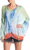 Letarte Boho Batwing Silk Shirt