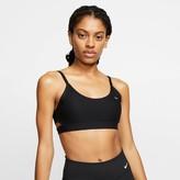 Nike Women's Indy Striped Light-Support Sports Bra