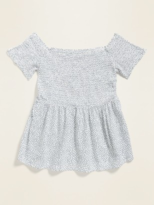 Old Navy Smocked Off-the-Shoulder Top for Women