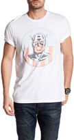 Junk Food Clothing Captain America Smile Tee