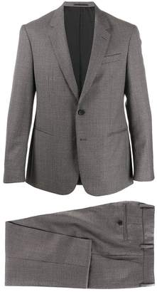 HUGO BOSS micro check two-piece suit