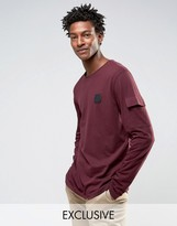 Cheap Monday Gazer Long Sleeve T-shirt Terry Pocket