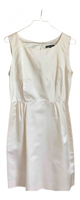Tara Jarmon Ecru Silk Dresses