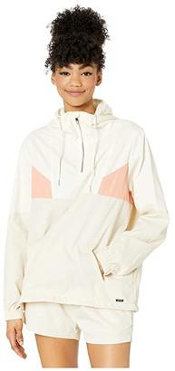 Volcom Coco Windstoned Jacket (Bone) Women's Clothing