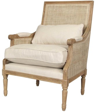 Emac & Lawton Pierre Rattan Armchair Natural