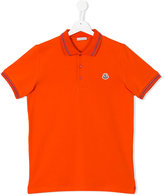 Moncler classic polo shirt - kids - Cotton - 14 yrs