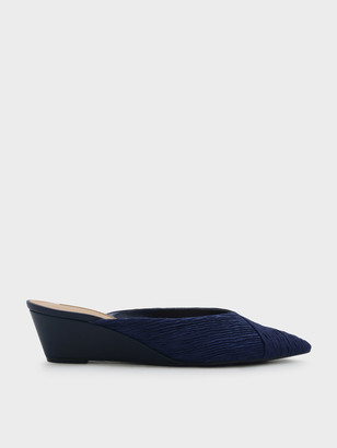 Charles & Keith V Wedge Mules