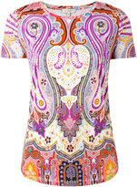 Etro Hindu print T-shirt - women - Cotton - 40