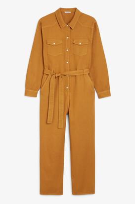Monki Denim boiler suit