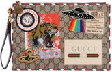 Gucci Courier Coated Gg Supreme Pouch