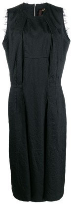 Comme des Garcons boxy fit sleeveless dress