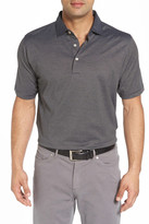 Peter Millar Finch's Stripe Cotton Polo
