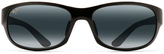 Maui Jim Sunglasses | Twin Falls 417-02J15 | Gloss Black Fade Lifestyle Frame Frame Polarized Neutral Grey Lenses with Patented PolarizedPlus2 Lens Technology