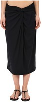 Michael Kors Drapey Jersey Front Twist Skirt Cover-Up
