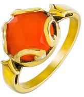 Heather Hawkins Persephone Ring In Carnelian