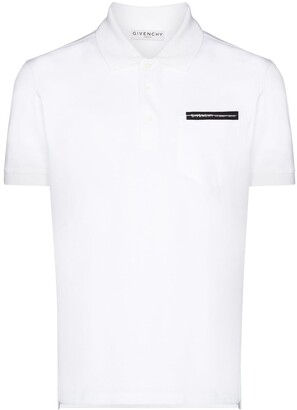Givenchy Contrast Applique Detail Polo Shirt