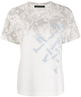 Mr & Mrs Italy abstract-print T-shirt