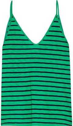 Stateside Striped Slub Cotton-blend Jersey Camisole