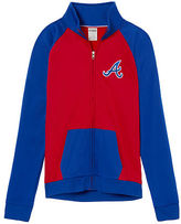PINK Atlanta Braves Bling Track Jacket
