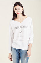 True Religion Crew Womens Sweatshirt