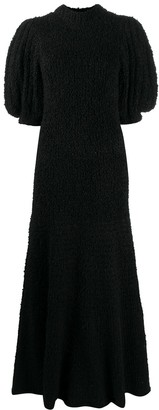 Cecilie Bahnsen Tie-Back Knitted Dress