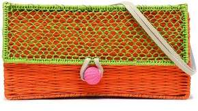 Sophie Anderson Woven Raffia Shoulder Bag