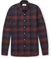 Oliver Spencer Clerkenwell Checked Cotton-Poplin Shirt