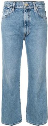 Gold Sign Alina denim cropped jeans