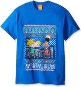 Nickelodeon Men's Hey Arnold Ugly Christmas T-Shirt