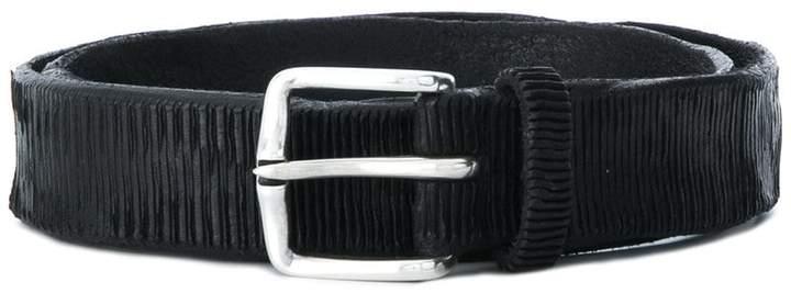 Orciani narrow leather belt