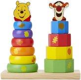 Melissa & Doug Disney Baby Winnie The Pooh & Tigger Wooden Stacker